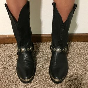 Other - EUC Men's Genuine Leather cowboy boots
